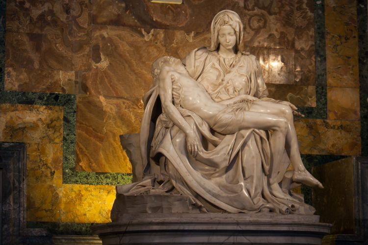 Statue de Pieta